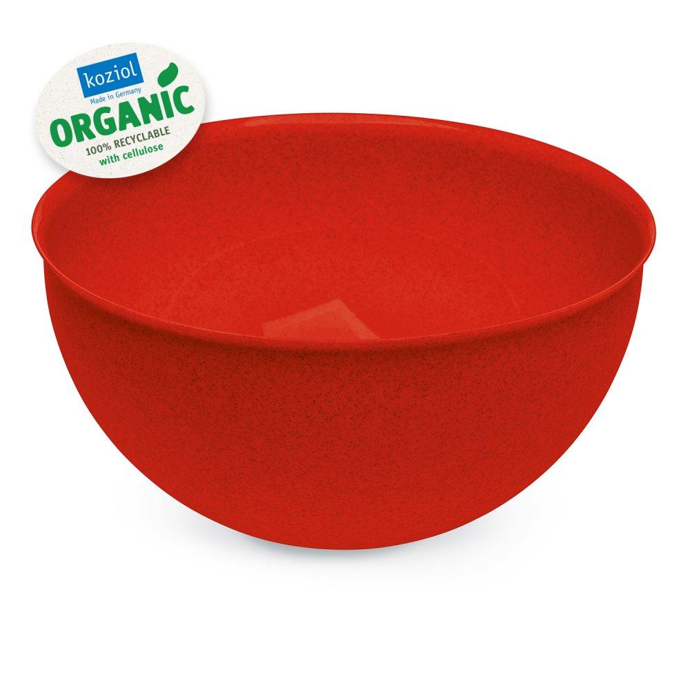 PALSBY L ORGANIC Bowl 280mm/5l organic red