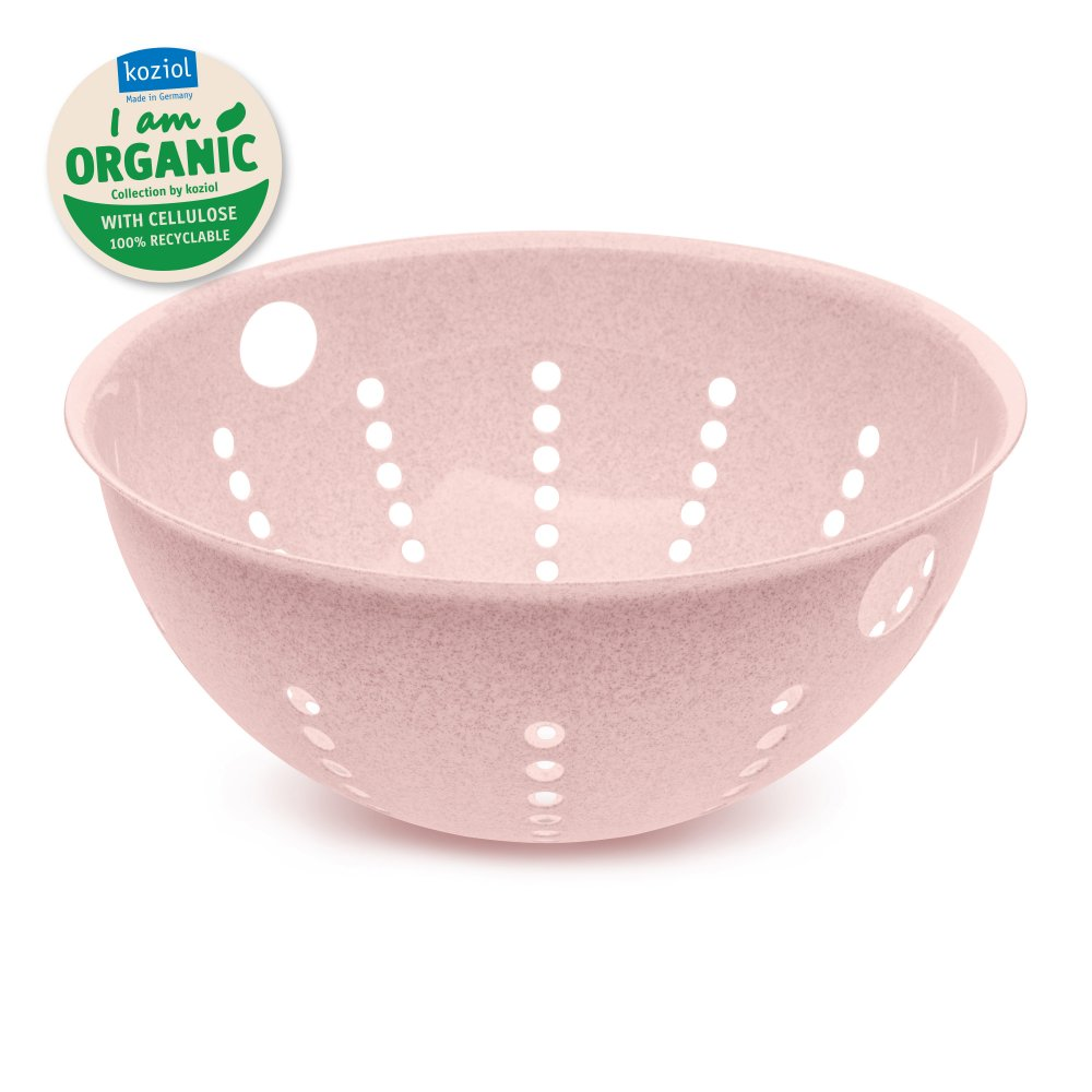 PALSBY L Colander 280mm/5l organic pink