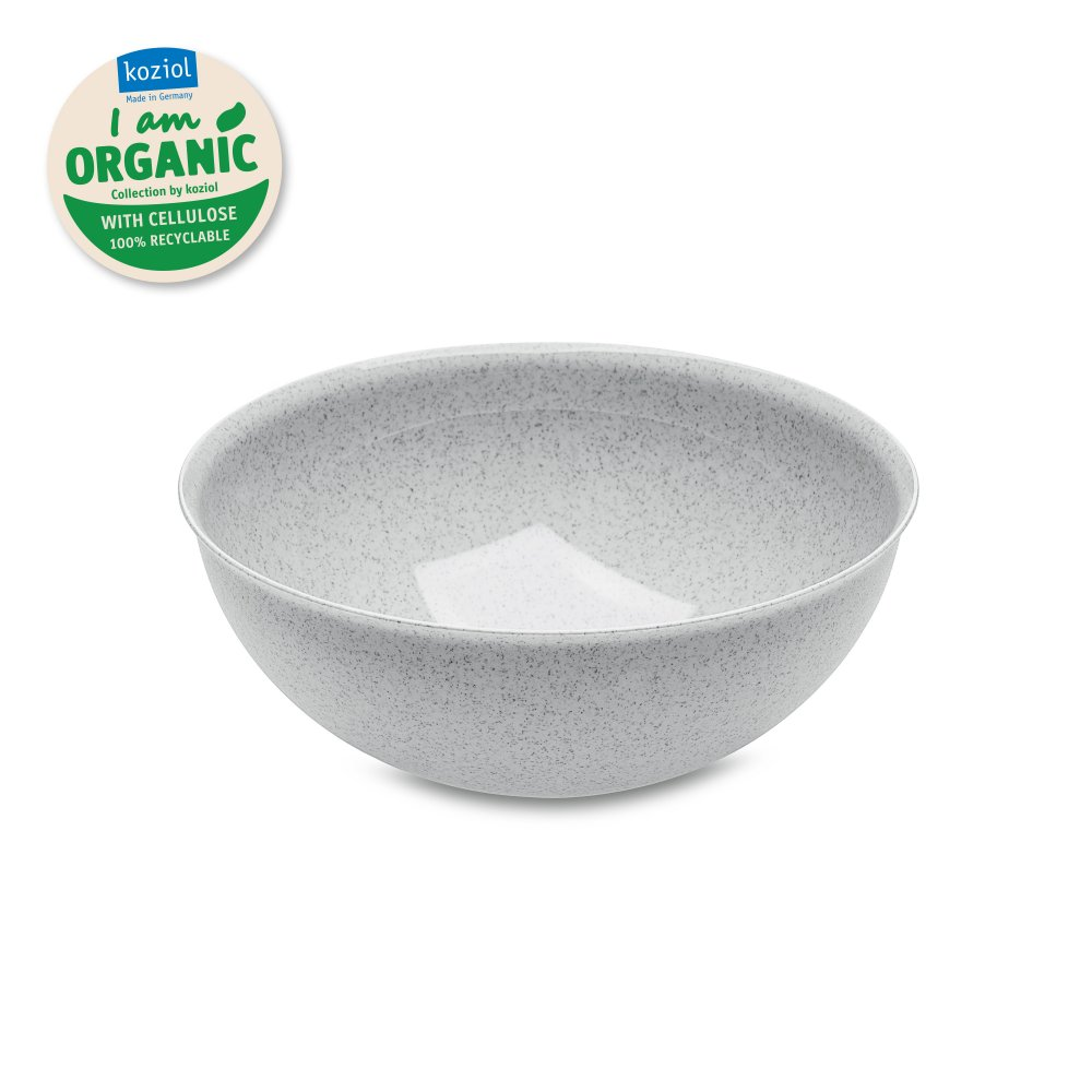 PALSBY Low Bowl 160 mm, Ole Palsby Collection organic grey