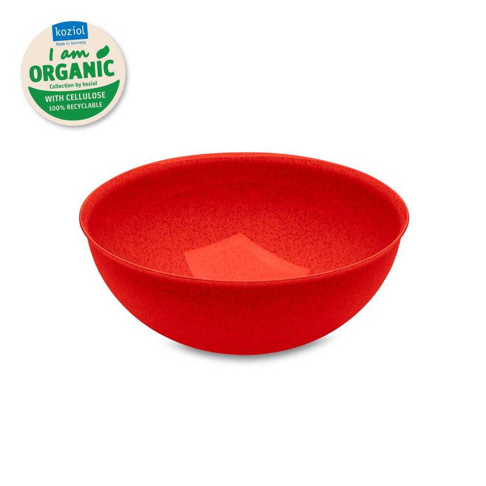 PALSBY Bowl flat 750ml organic red