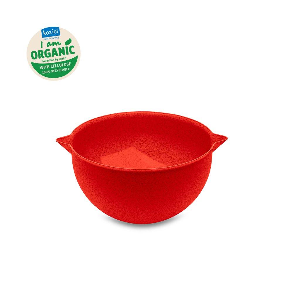 PALSBY M ORGANIC Mixing Bowl 2l organic red