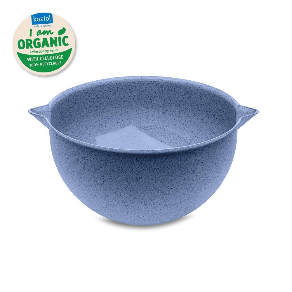 PALSBY L ORGANIC Mixing Bowl 5l organic blue