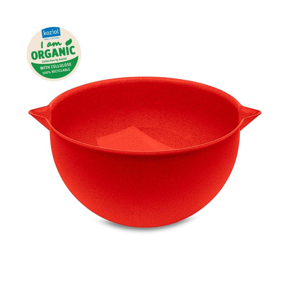 PALSBY L ORGANIC Rührschüssel 5l organic red