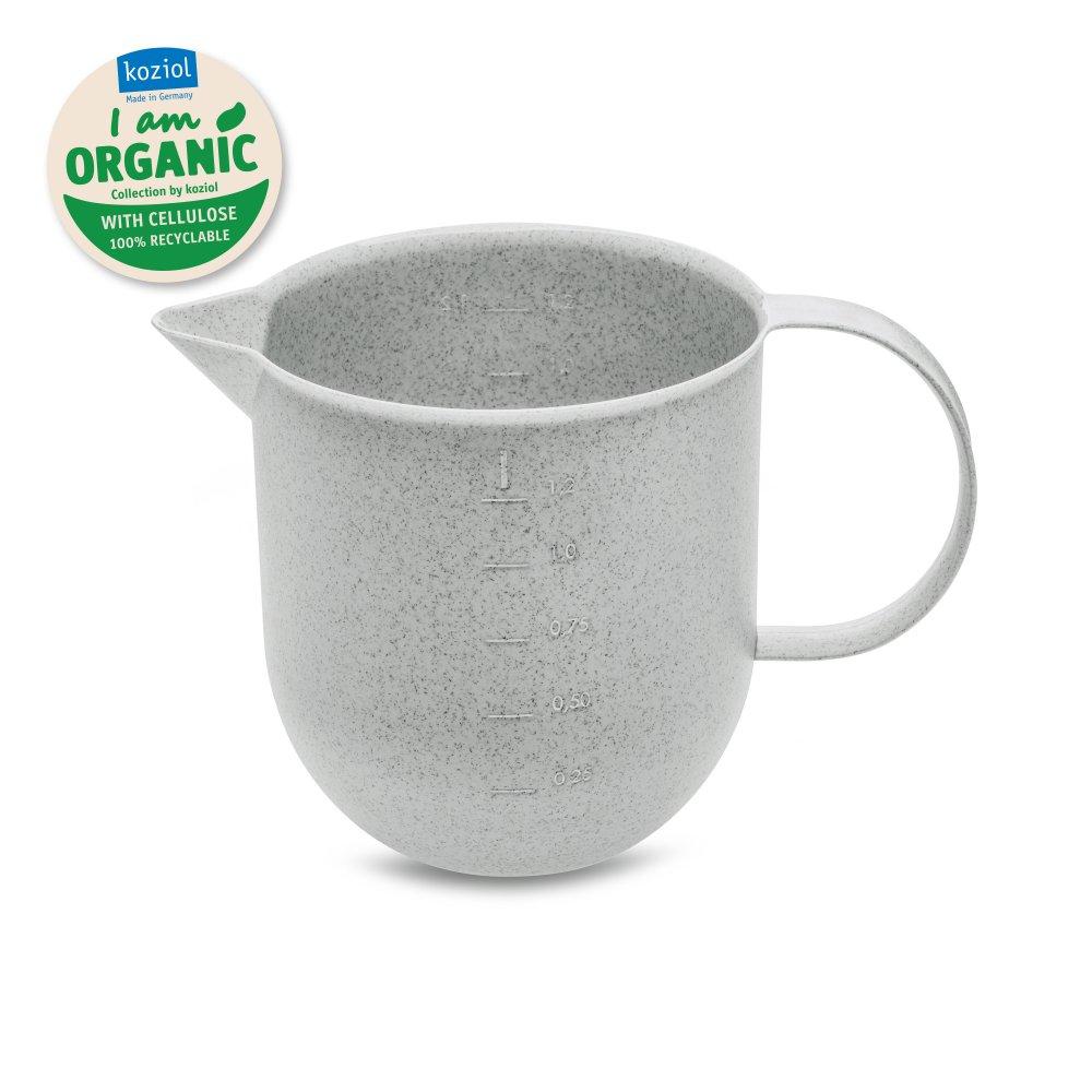 PALSBY Krug 1,2l organic grey