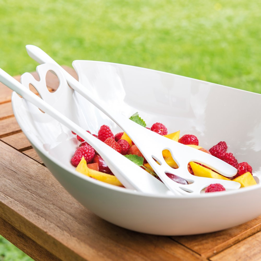 SHADOW Salad Bowl with servers 3,5l
