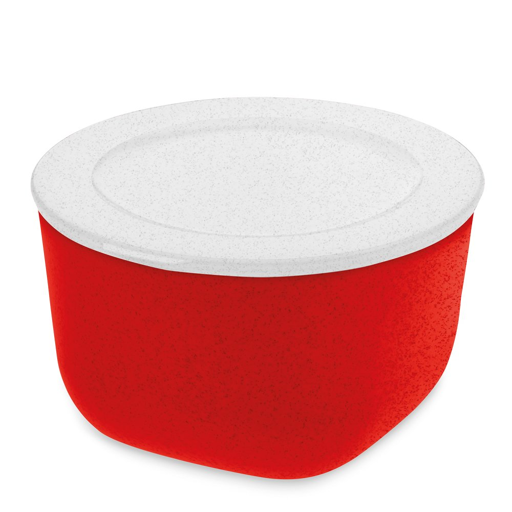 CONNECT BOX 1 Box mit Deckel 1l organic red-organic white
