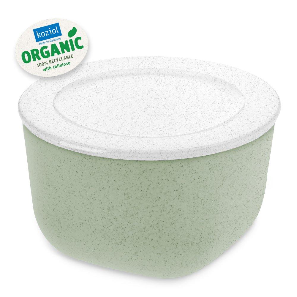 CONNECT BOX 1 Box with lid 1l organic green-organic white