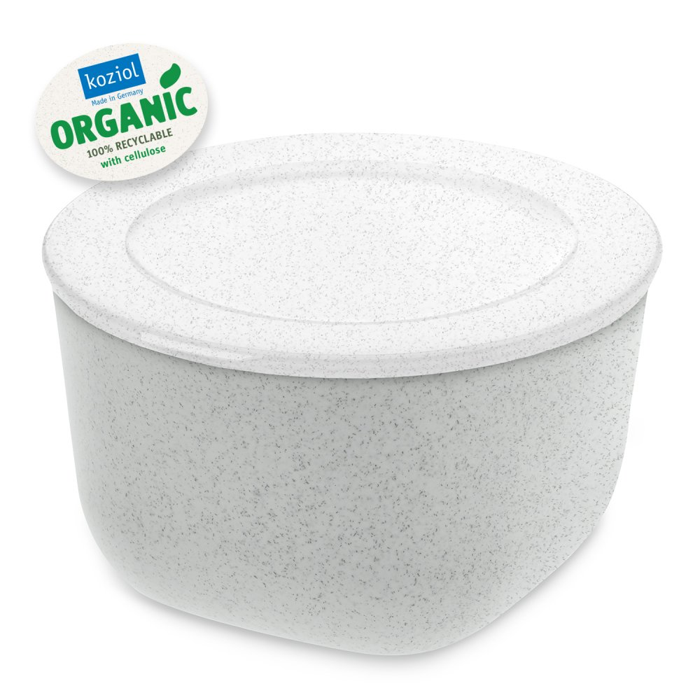 CONNECT BOX 1 Box with lid 1l organic grey-organic white