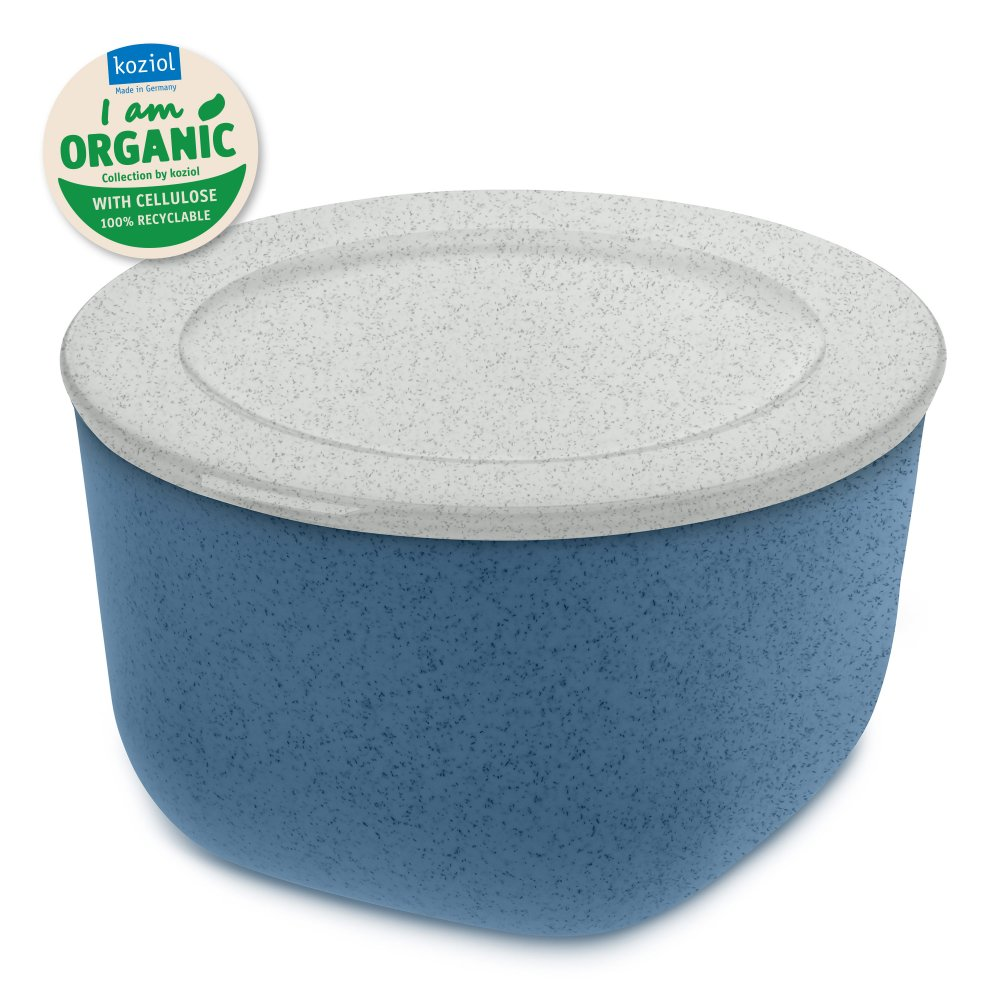 CONNECT M ORGANIC Box with lid 1l organic deep blue