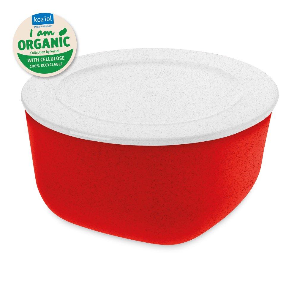 CONNECT BOX 2 ORGANIC Box mit Deckel 2l organic red-organic white