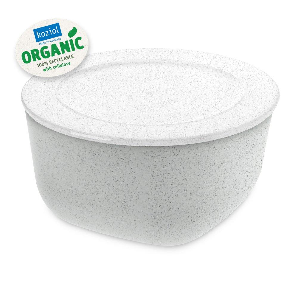 CONNECT BOX 2 ORGANIC Box mit Deckel 2l organic grey-organic white