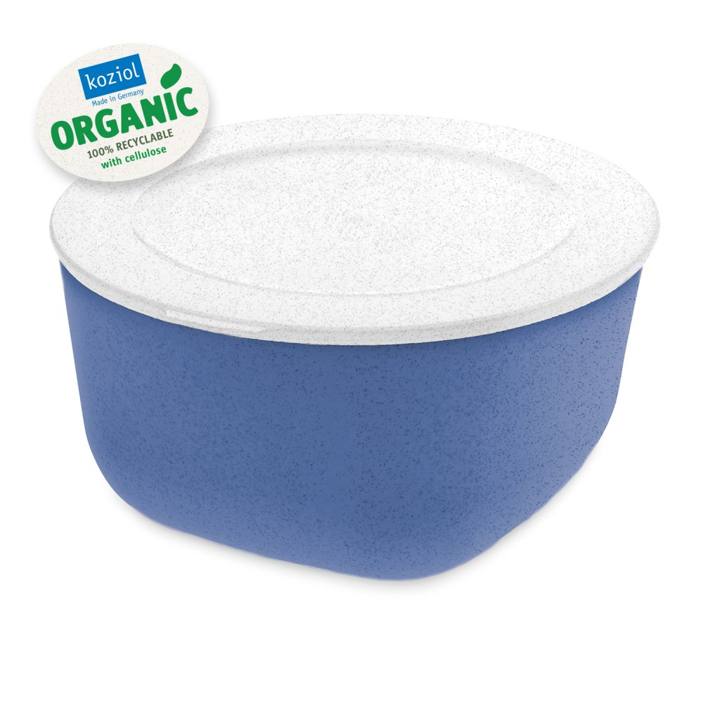 CONNECT BOX 2 Box mit Deckel 2l organic blue-organic white