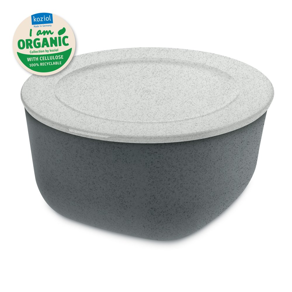 CONNECT L ORGANIC Box mit Deckel 2l organic deep grey