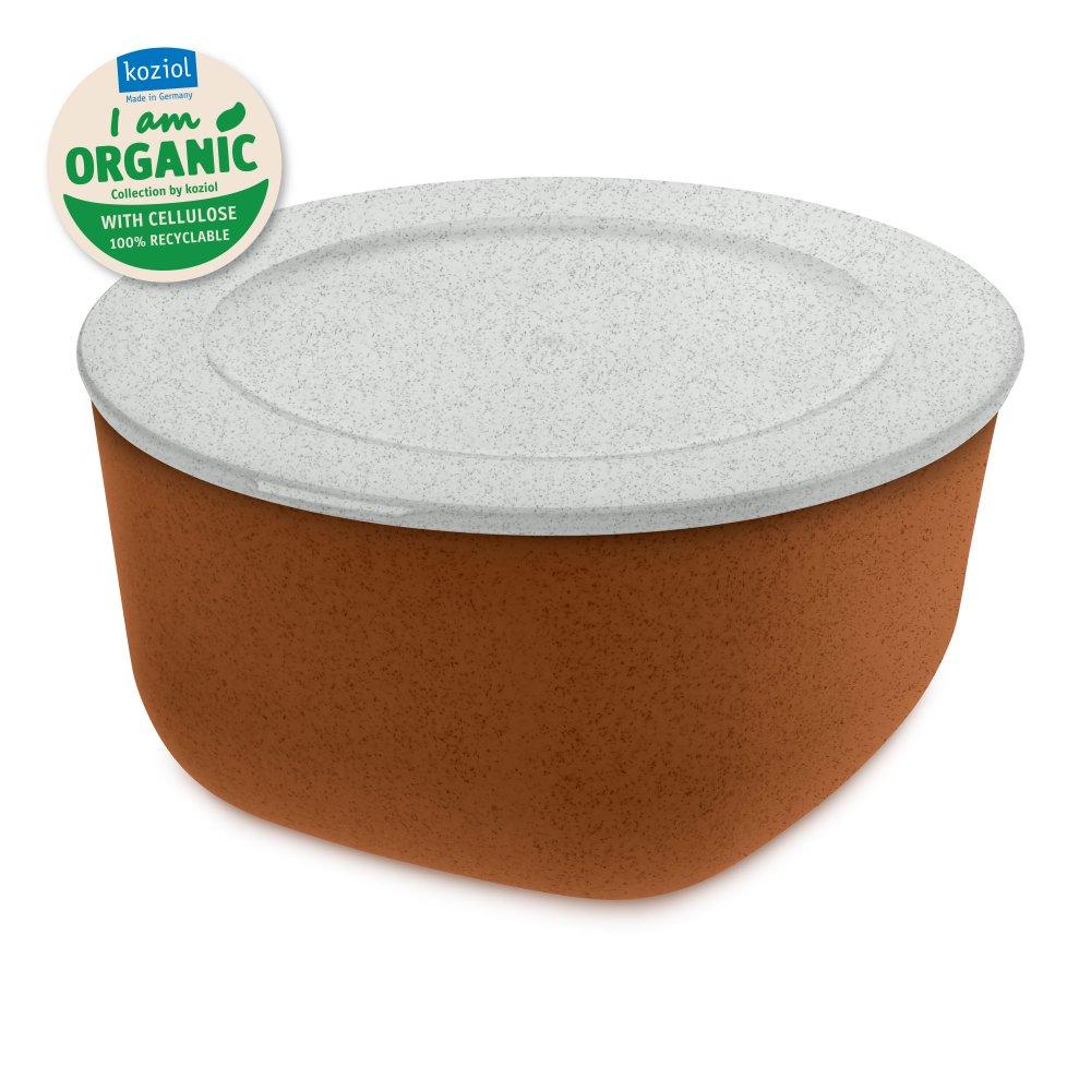CONNECT BOX 2 Box mit Deckel 2l organic rusty steel