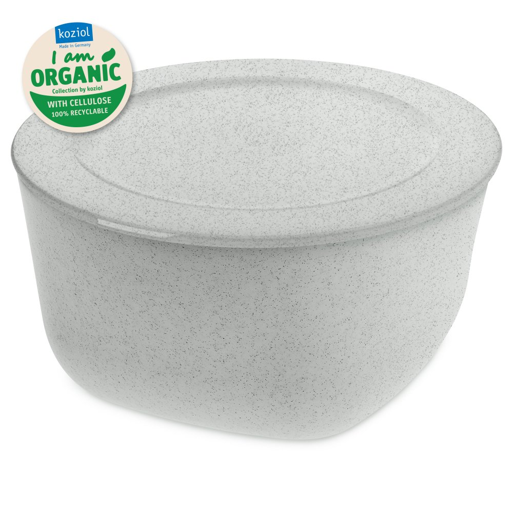 CONNECT XL ORGANIC Box with lid 4l organic grey