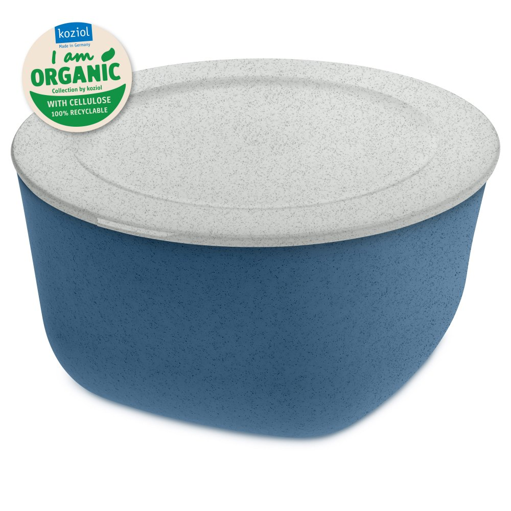 CONNECT XL ORGANIC Box with lid 4l organic deep blue