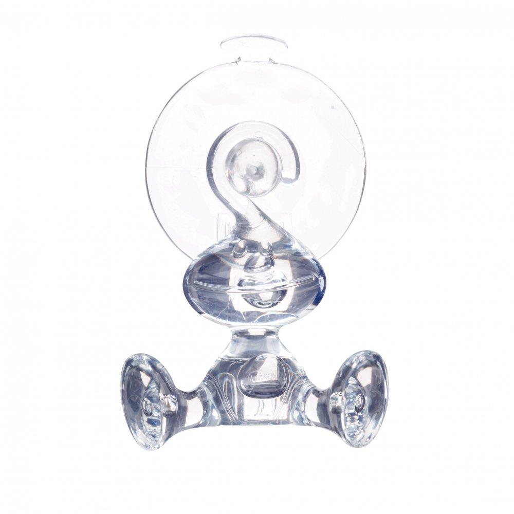 MORITZ Wall Hook crystal clear