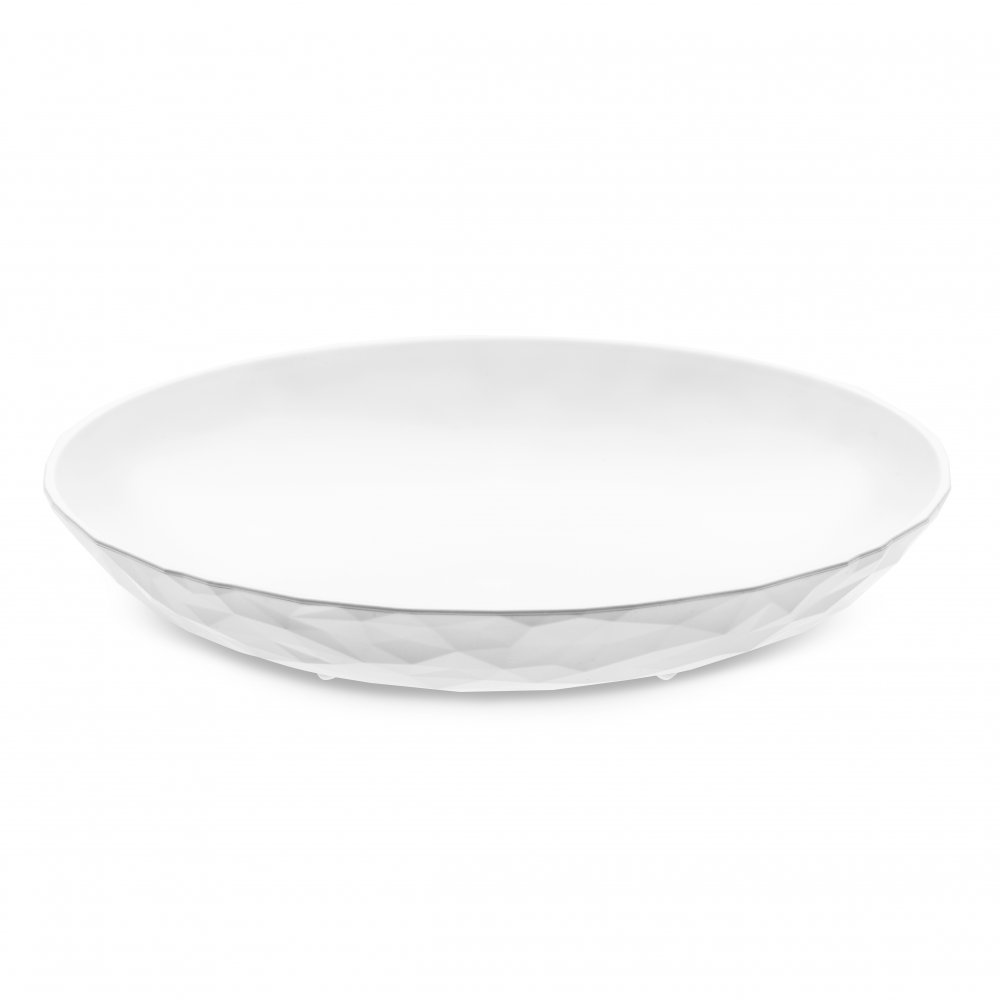 CLUB PLATE M Soup Plate cotton white