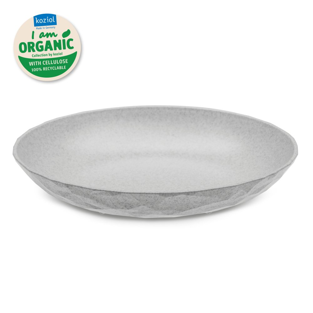 CLUB PLATE M Soup Plate organic grey
