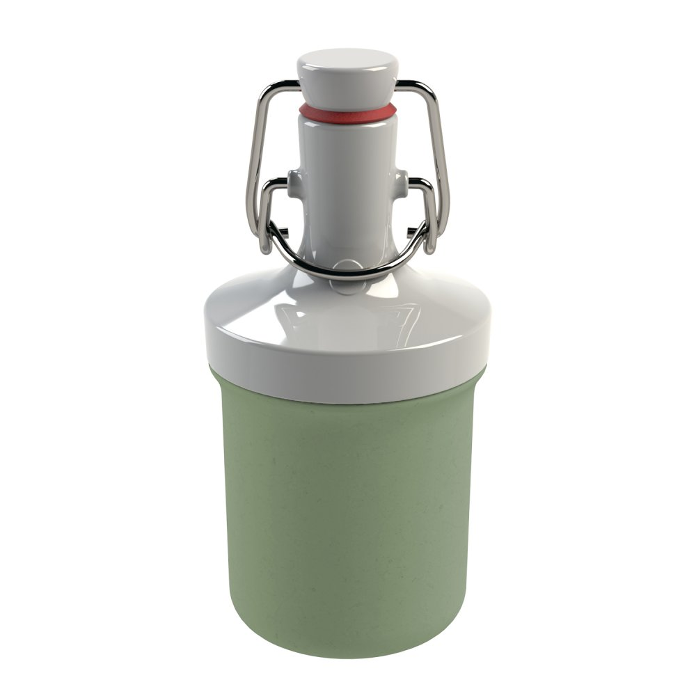 PLOPP TO GO MINI Organic Trinkflasche 200ml organic green