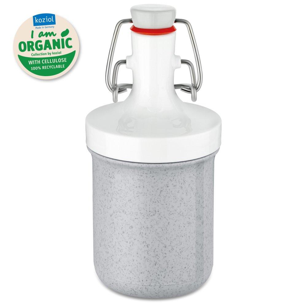 PLOPP TO GO MINI Organic Trinkflasche 200ml organic grey