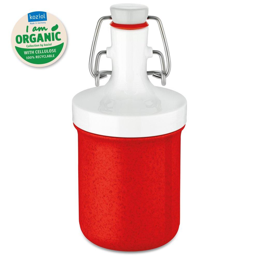 PLOPP TO GO MINI Trinkflasche 200ml organic red