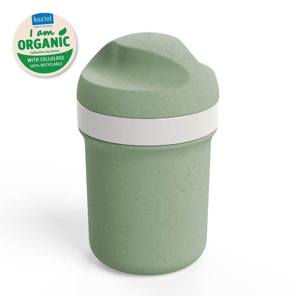 OASE MINI Organic Trinkflasche 200ml organic green