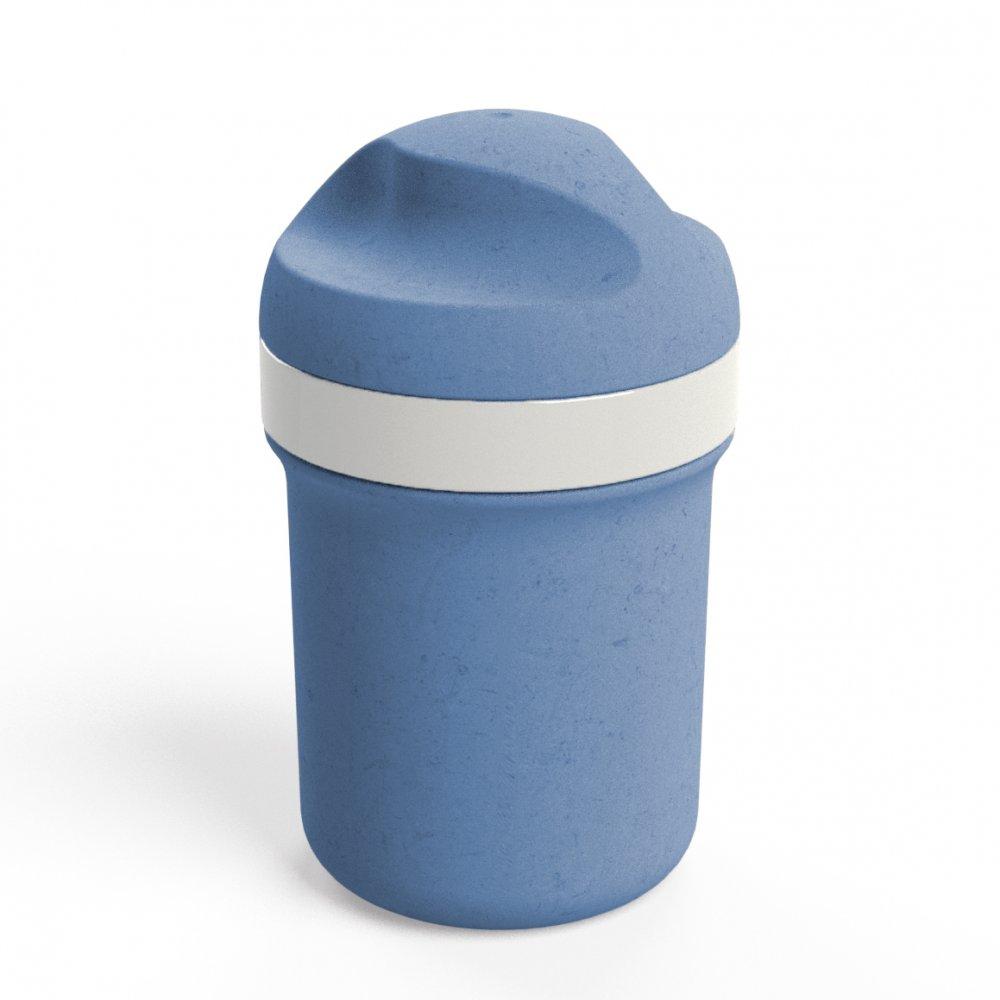 OASE MINI Organic Trinkflasche 200ml organic blue
