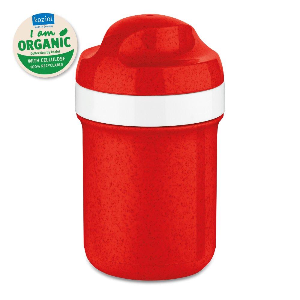 OASE MINI Trinkflasche 200ml organic red