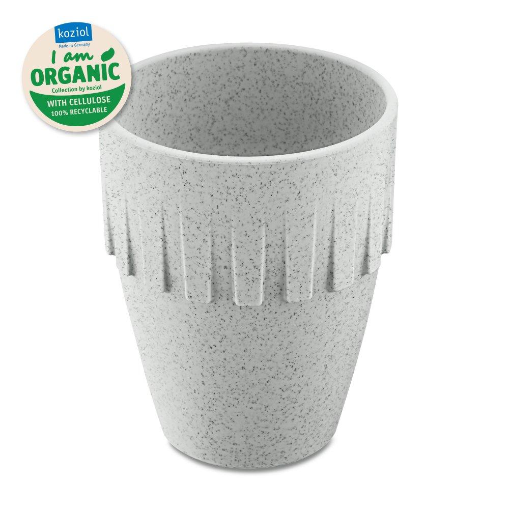 CONNECT ORGANIC Cappuccino Cup 300ml organic grey