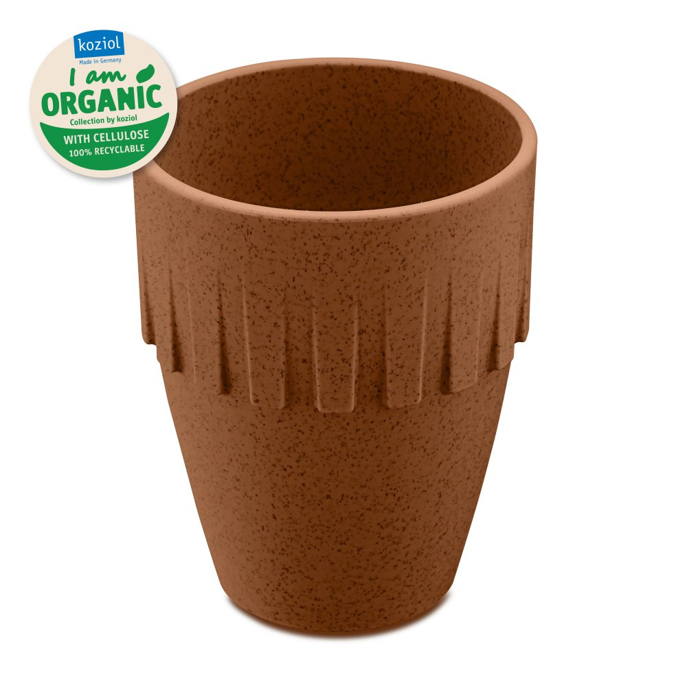 CONNECT ORGANIC Becher Cappuccino 300ml organic rusty steel