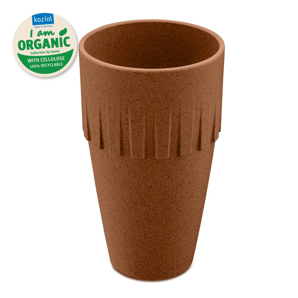 CONNECT ORGANIC Latte Cup 400ml organic rusty steel