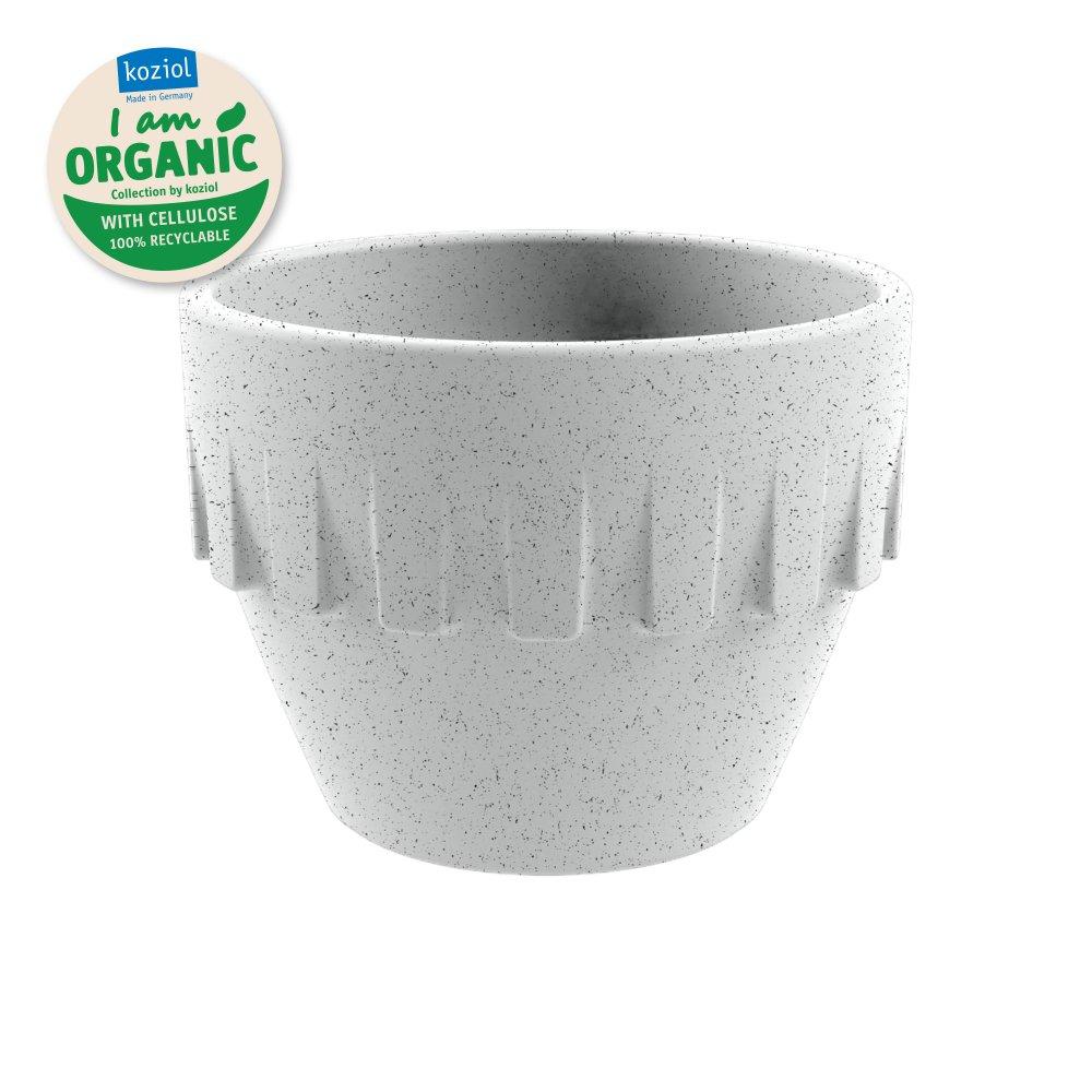 CONNECT ORGANIC Becher Espresso 100ml organic grey