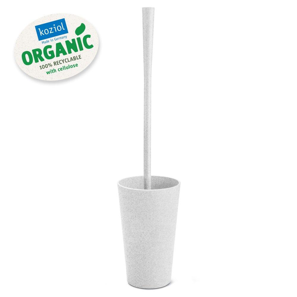 RIO ORGANIC Toilettenbürste organic grey