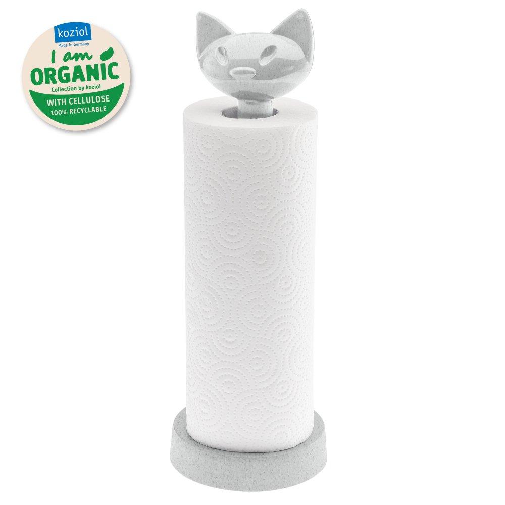 MIAOU ORGANIC Paper Towel Stand organic grey