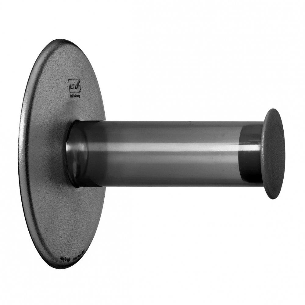 PLUG´N´ROLL WC-Rollenhalter transparent grey