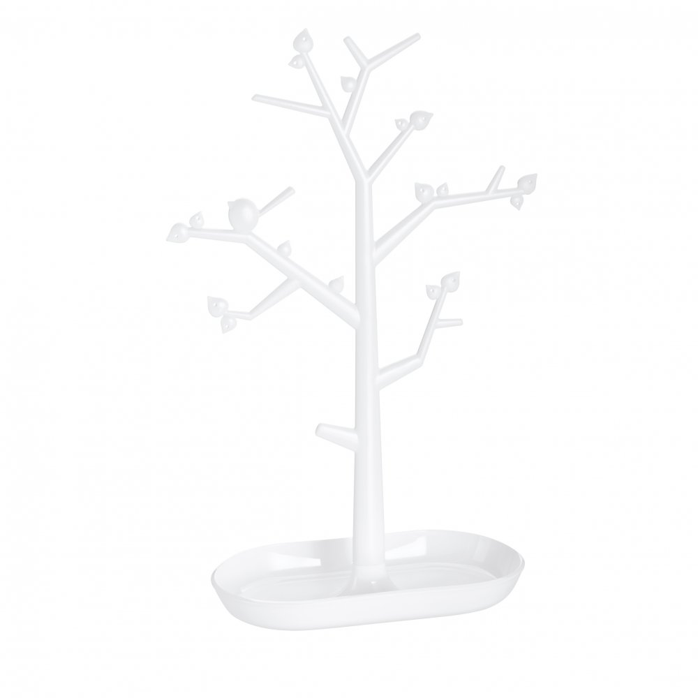 [pi:p] L Trinket Tree crystal clear/cotton white