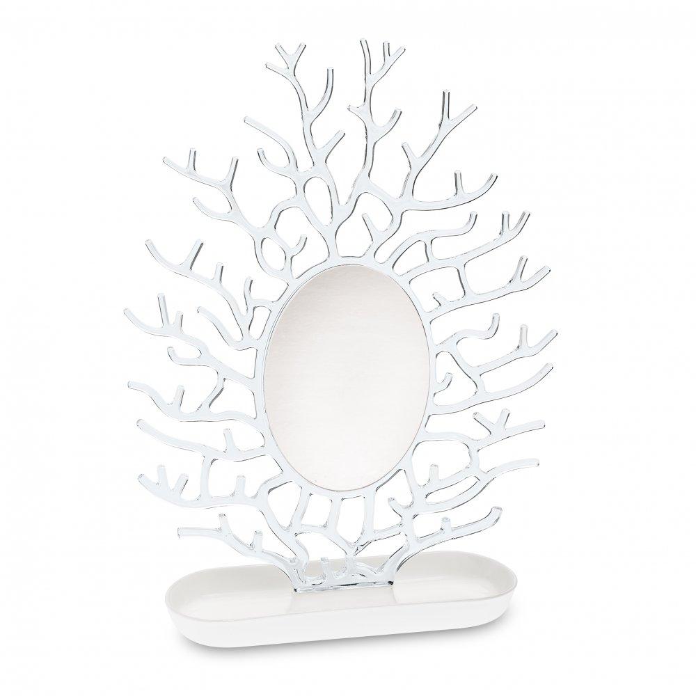 CORA Schmuckspiegel cotton white