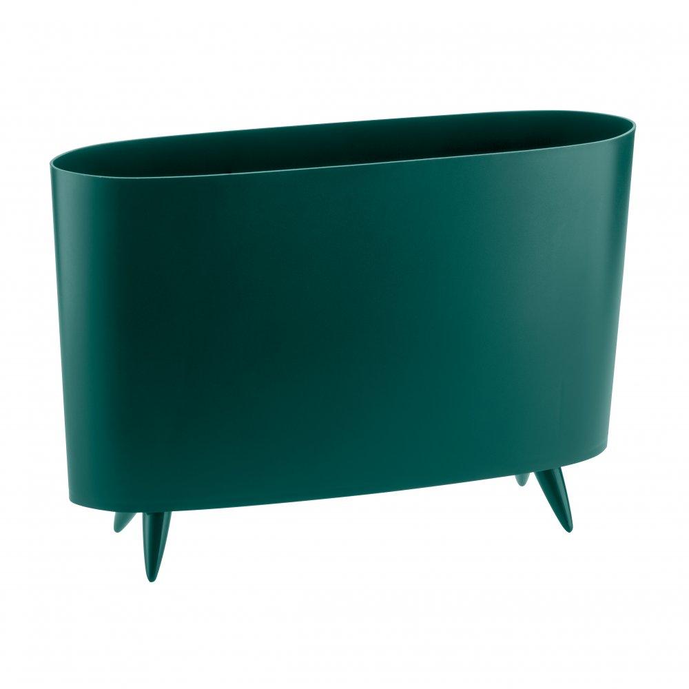 MILANO Magazine Stack emerald green