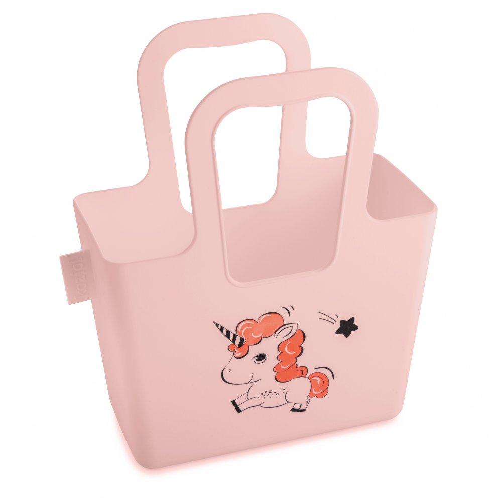 TASCHELINI BELLA Tasche mit Druck powder pink mit Druck