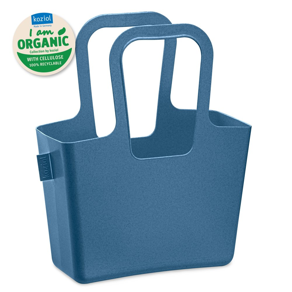 TASCHELINO ORGANIC Tasche organic deep blue