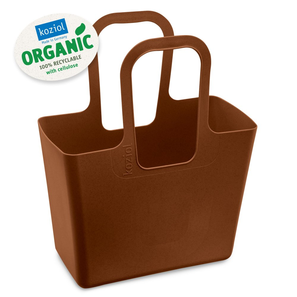 TASCHE XL ORGANIC Bag organic rusty steel