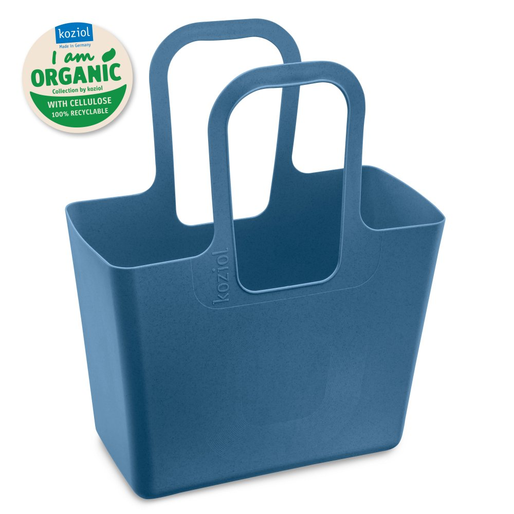 TASCHE XL ORGANIC Bag organic deep blue