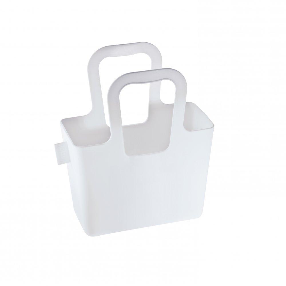 TASCHELINI Tasche cotton white