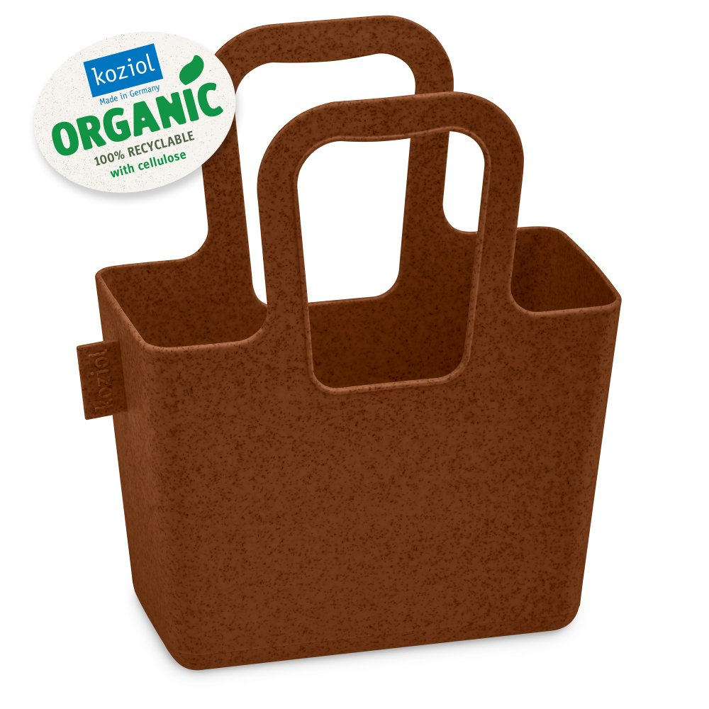 TASCHELINI ORGANIC Bag organic rusty steel