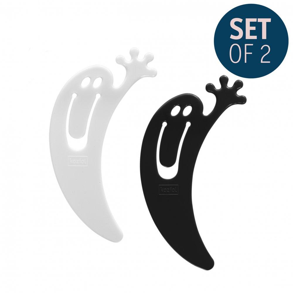 JIMINI Bookmark Set of 2 cosmos black/cotton white