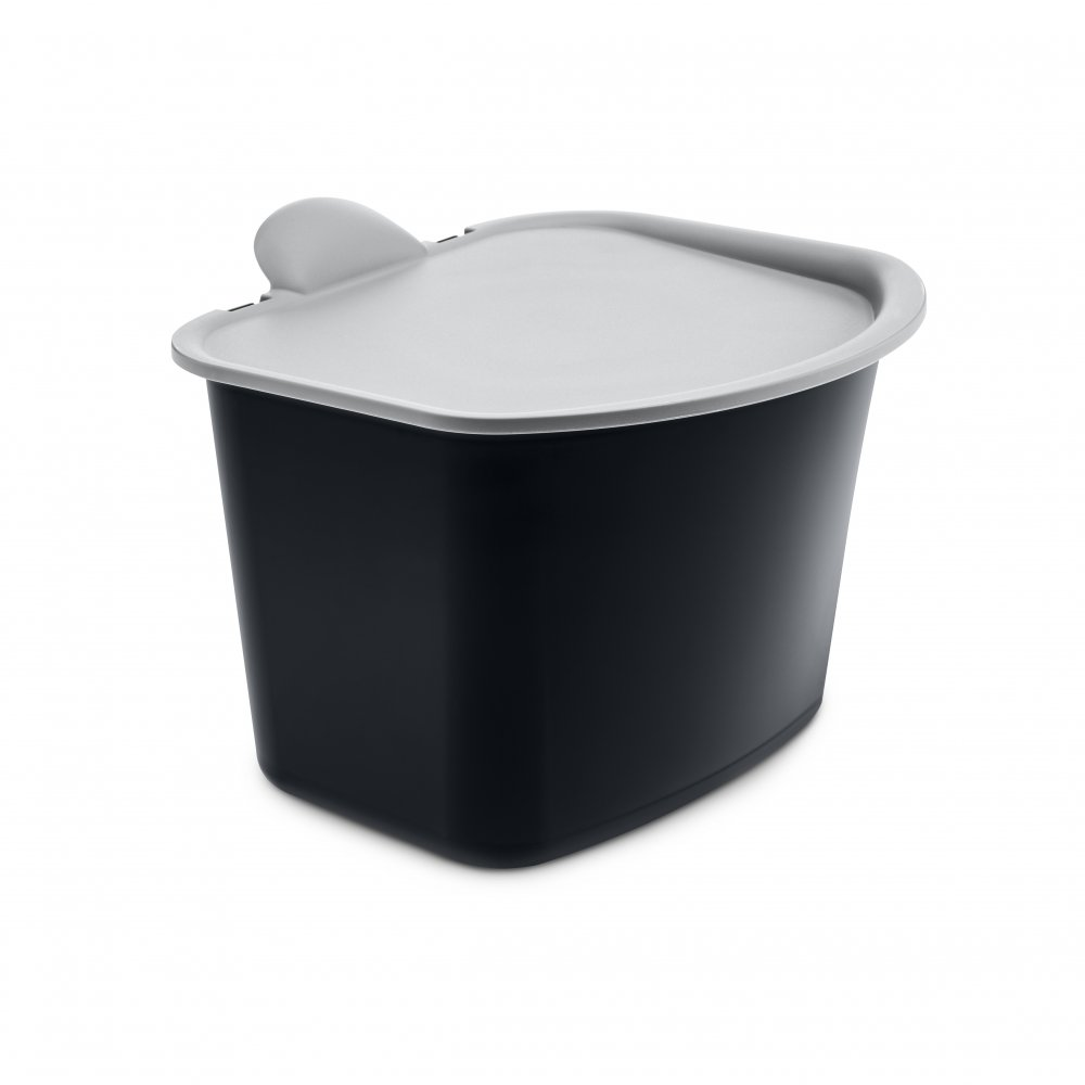 BIBO Organic Waste Bin cosmos black-cool grey