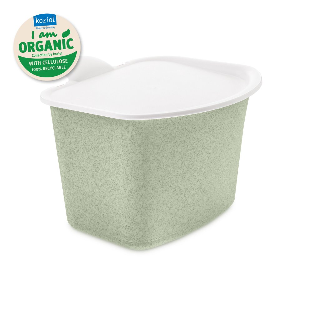 BIBO ORGANIC Bio Abfall Behälter organic green