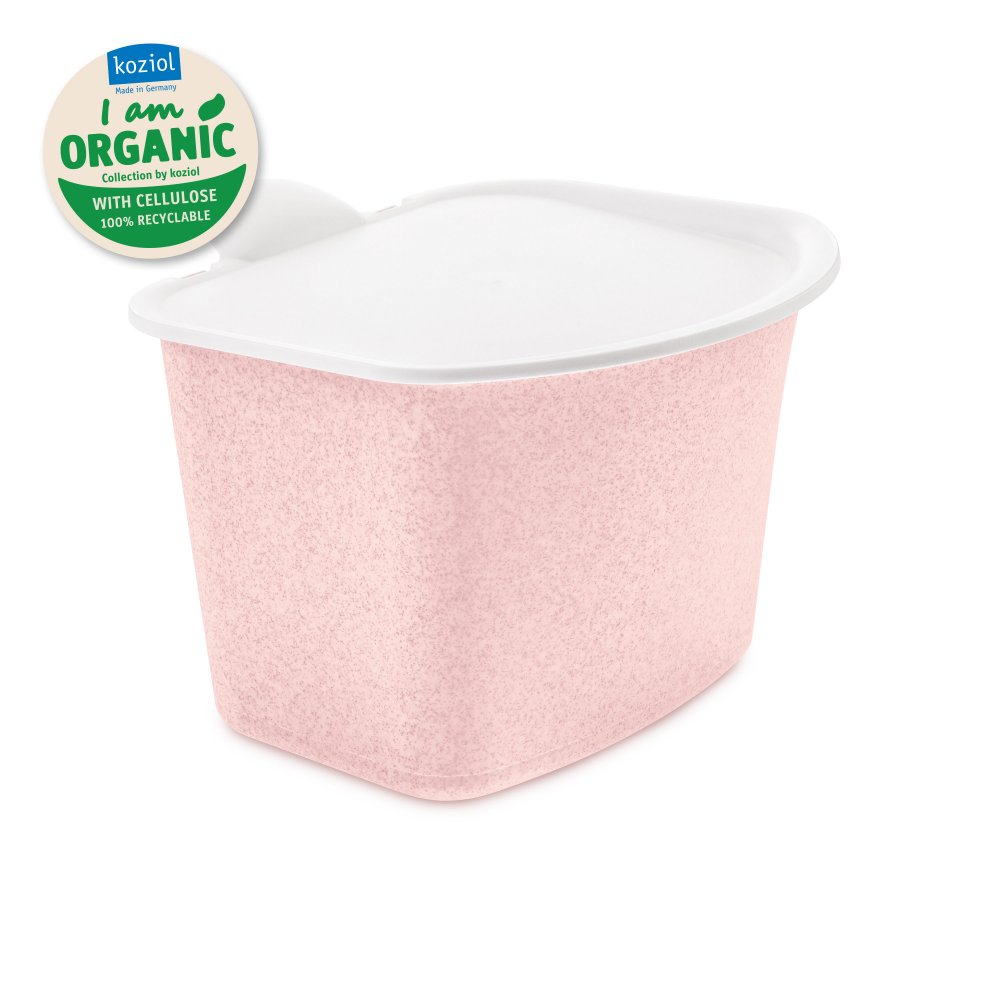 BIBO Bio Abfall Behälter organic pink