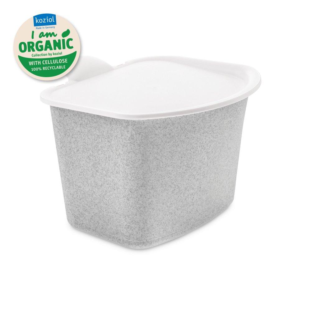BIBO Bio Abfall Behälter organic grey